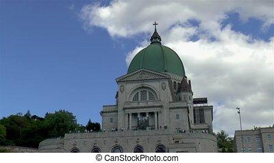 Saint Joseph's Oratory of Mount Royal, in Montreal, Canada.