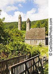 Saint Kevin Church (Kitchen) symbol of Ireland - Saint Kevin...