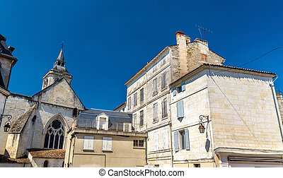 Saint Leger Church in Cognac, France