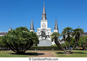 Saint Louis Cathedral, New Orleans, Louisiana