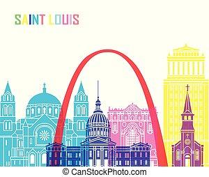 Saint Louis skyline pop