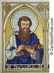 saint, luke, les, évangéliste