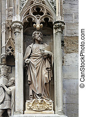Saint Luke the Evangelist at St Stephens Cathedral in...