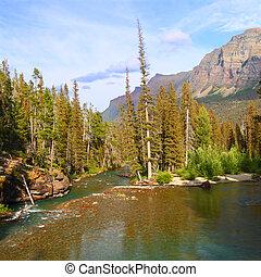Saint Mary Creek - Glacier NP