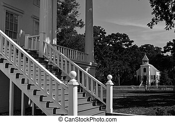 Saint Marys, Ga Historical District - A black and white...