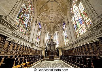 Saint-Mihiel (France) - Church choir - Saint-Mihiel (Meuse,...