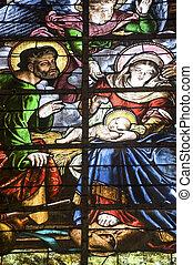 Saint-Mihiel - Stained glass - Saint-Mihiel (Meuse,...