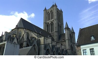 Saint Nicholas' Church, Sint-Niklaaskerk in Ghent, Gent, Belgium.