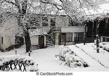 Saint Nicholas Convent in the Winter