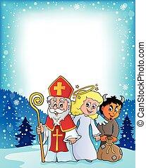 Saint Nicholas Day theme 3 - eps10 vector illustration.