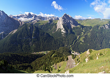 Saint Nicolò valley