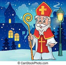 saint, nicolas, thème, image