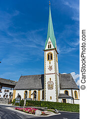 Saint Nicolaus in Mutters near Innsbruck, Austria.
