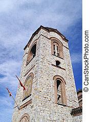 Saint Panteleimon church in Ohrid