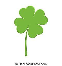Saint Patrick Day Green Leaf Clover Shamrock