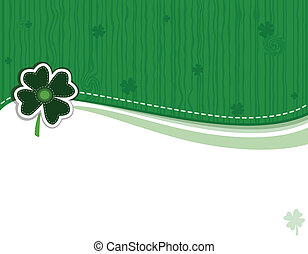 Saint Patrick Day Greeting Card