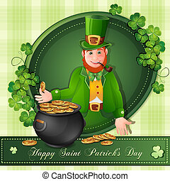 Saint Patrick Day's card