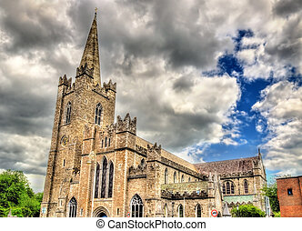 Saint Patrick's Cathedral in Dublin - Ireland