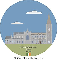 Saint Patrick's Cathedral in Dublin