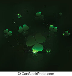 Saint Patrick's Day Background - illustration of Saint...