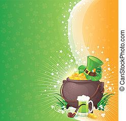 Saint Patrick's Day background - St. Patrick background...