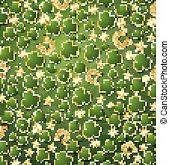 Saint Patrick's Day Background with Clover, Golden Stars and Horseshoe.