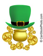 Saint Patricks Day concept