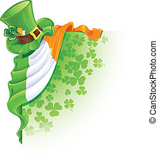 Saint Patrick's Day corner