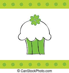 Saint Patrick's Day Cupcake - Happy Saint Patrick's Day ...