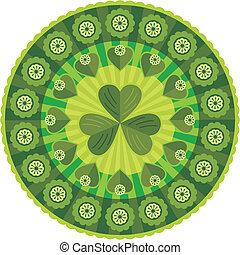 Saint Patrick's Day Decorative Patt