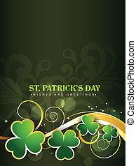 saint patrick's day design - happy saint patricks day vector...