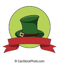 Saint patricks day emblem