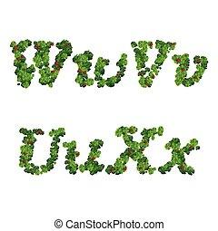 Saint Patrick's Day font - Happy Saint Patrick's Day font,...