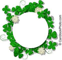 Saint Patricks Day frame