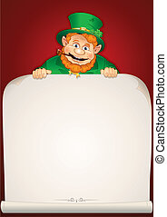 Saint Patrick's Day Greeting Card or Background