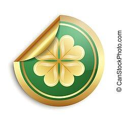 Saint Patrick's Day Irish sticker