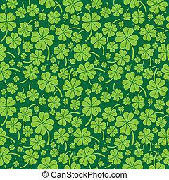 Saint Patricks Day Pattern - Saint Patricks day seamless...