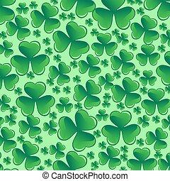 Saint Patricks day pattern