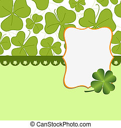 Saint Patrick's Day Postcard