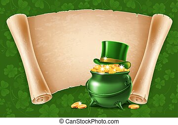 Saint Patricks Day Poster Design