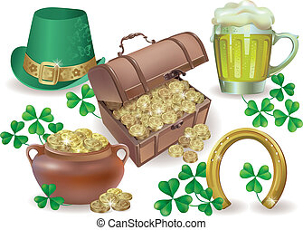 Saint Patricks Day set