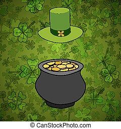 Saint Patrick's Day Vector Background