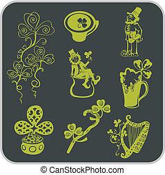Saint Patrick's Day - Vector illustration.