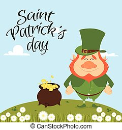 saint pattrick day - abstract saint pattrick day with some...