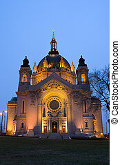 Saint Paul Cathedral Front Entrance