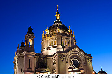 Saint Paul Cathedral Under Blue Sky