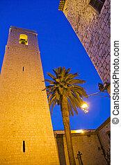 Saint Paul de Vence by night, France