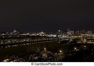Saint Paul Skyline at Night