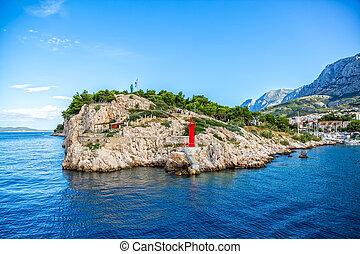 Saint Peter Makarska - Saint Peter small peninsula at the ...