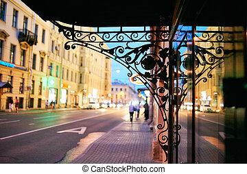 Saint-Petersburg at night
